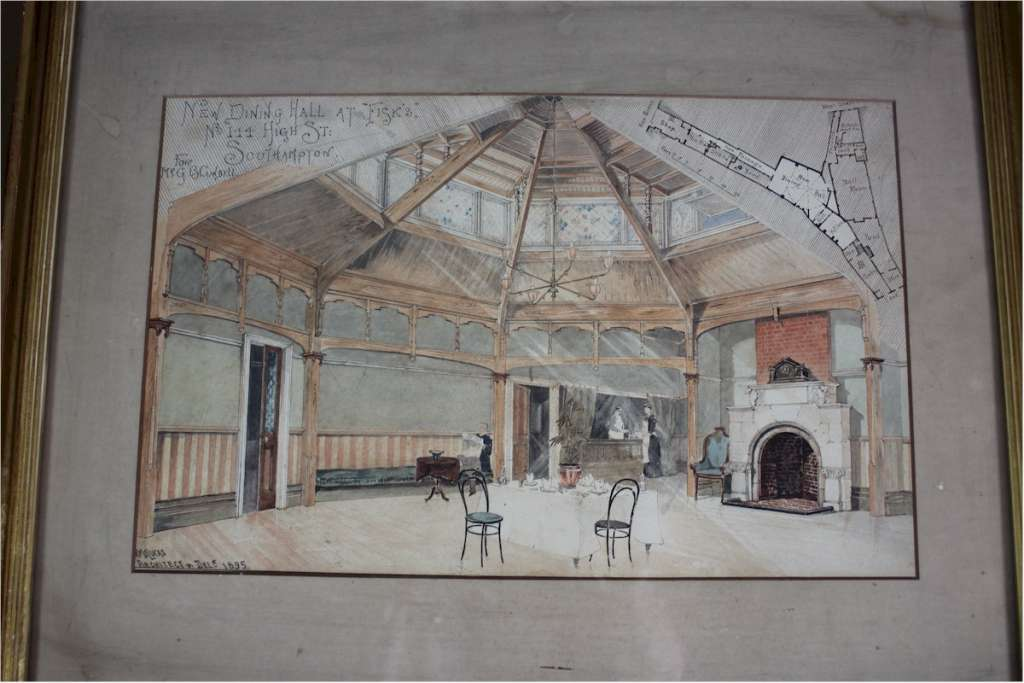 Architects drawing c1895