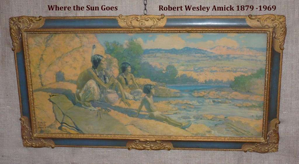 Pair of prints by Robert Wesley Amick