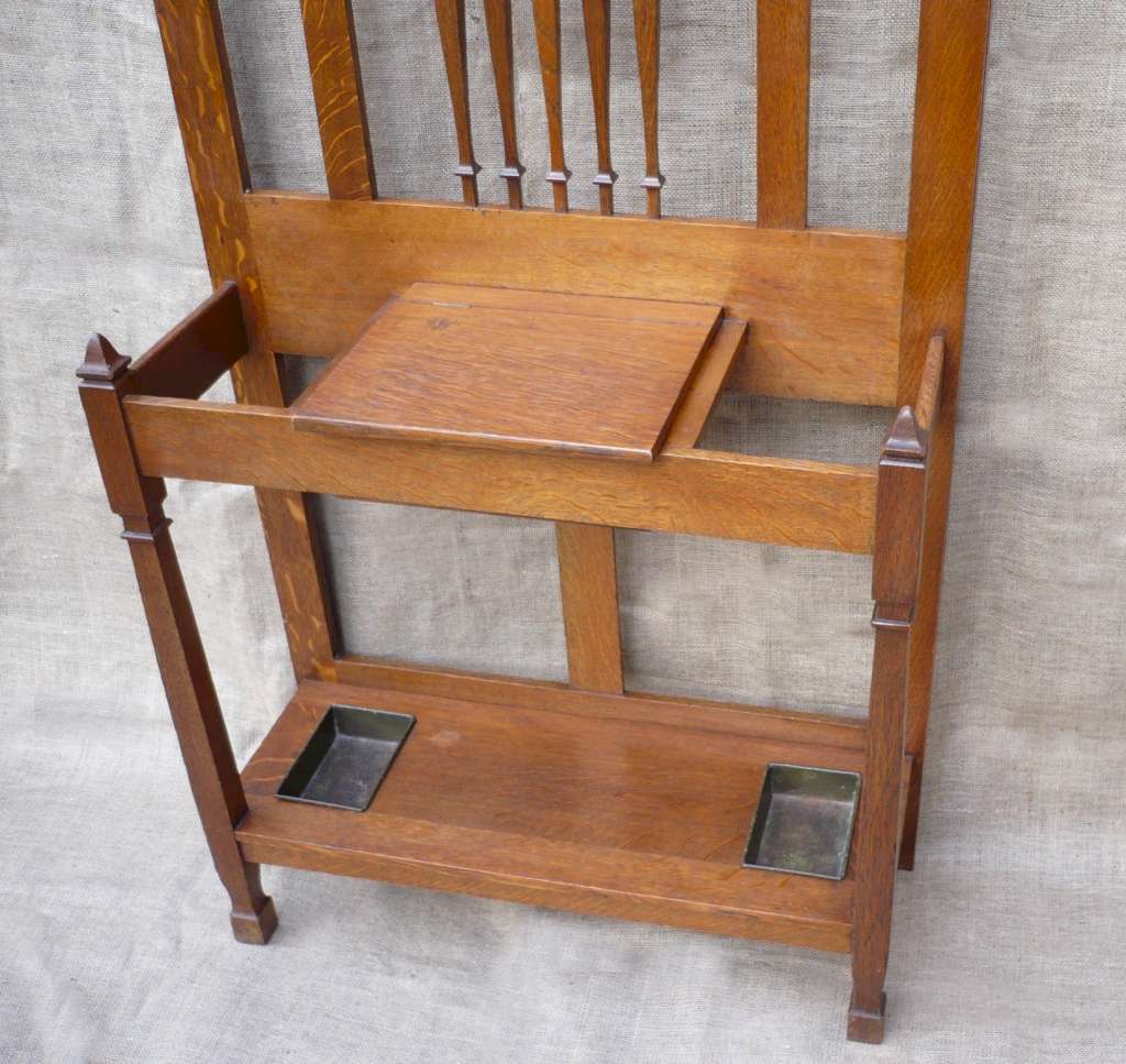 Shapland and Petter hallstand in oak