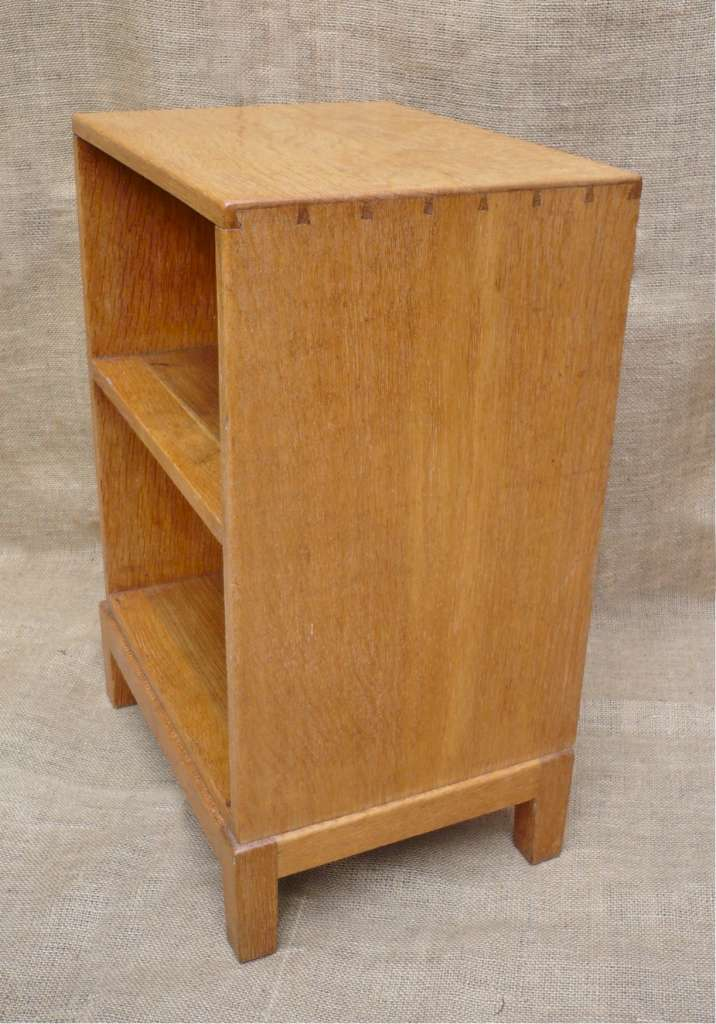 Cotswold school bedside cabinet in pale oak