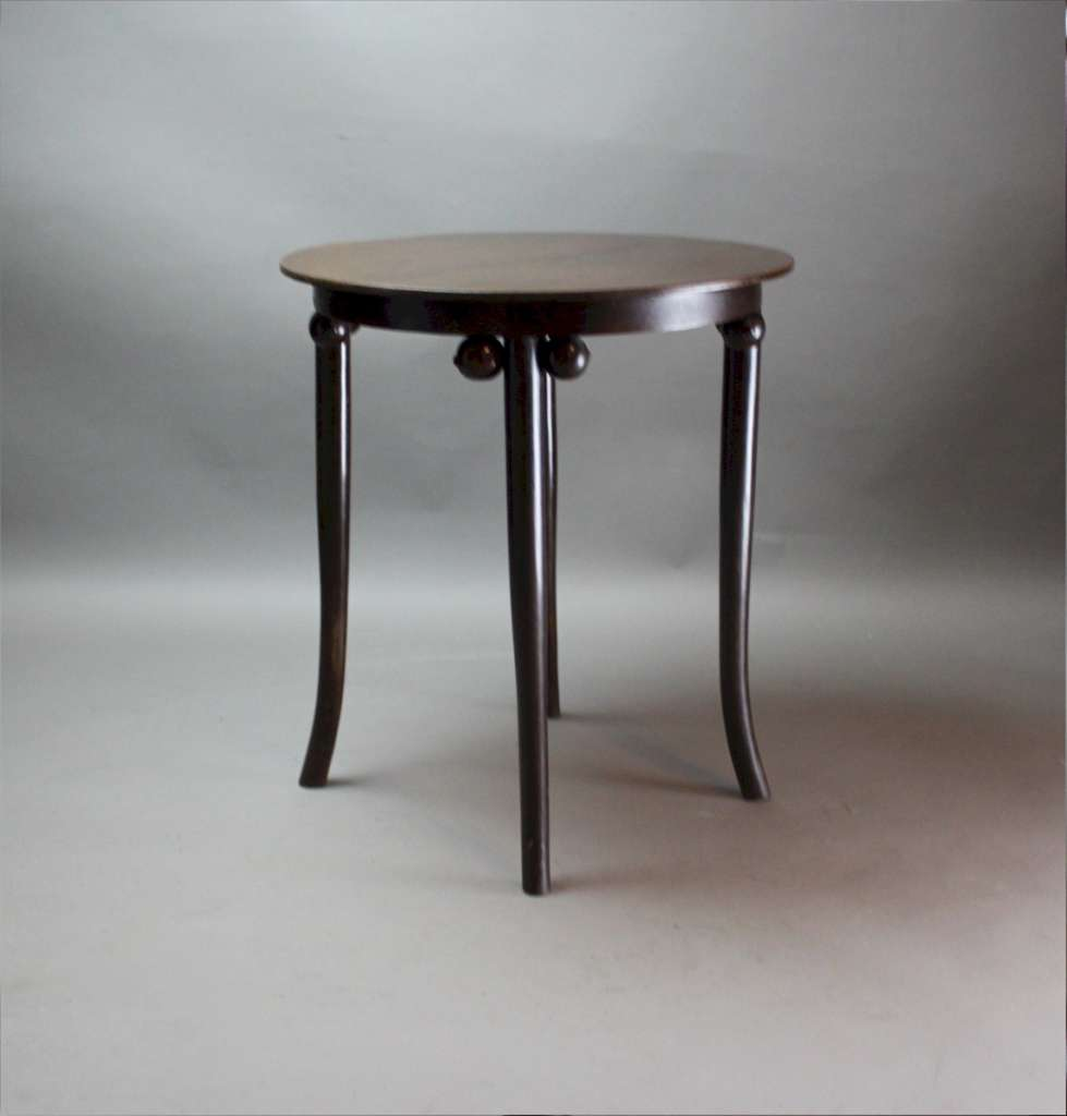 Bentwood table after Hoffmann c1910