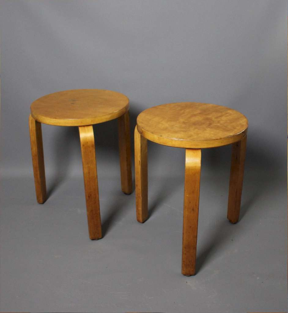 Alvar Aalto, Stacking Stool, Designed 1933,
