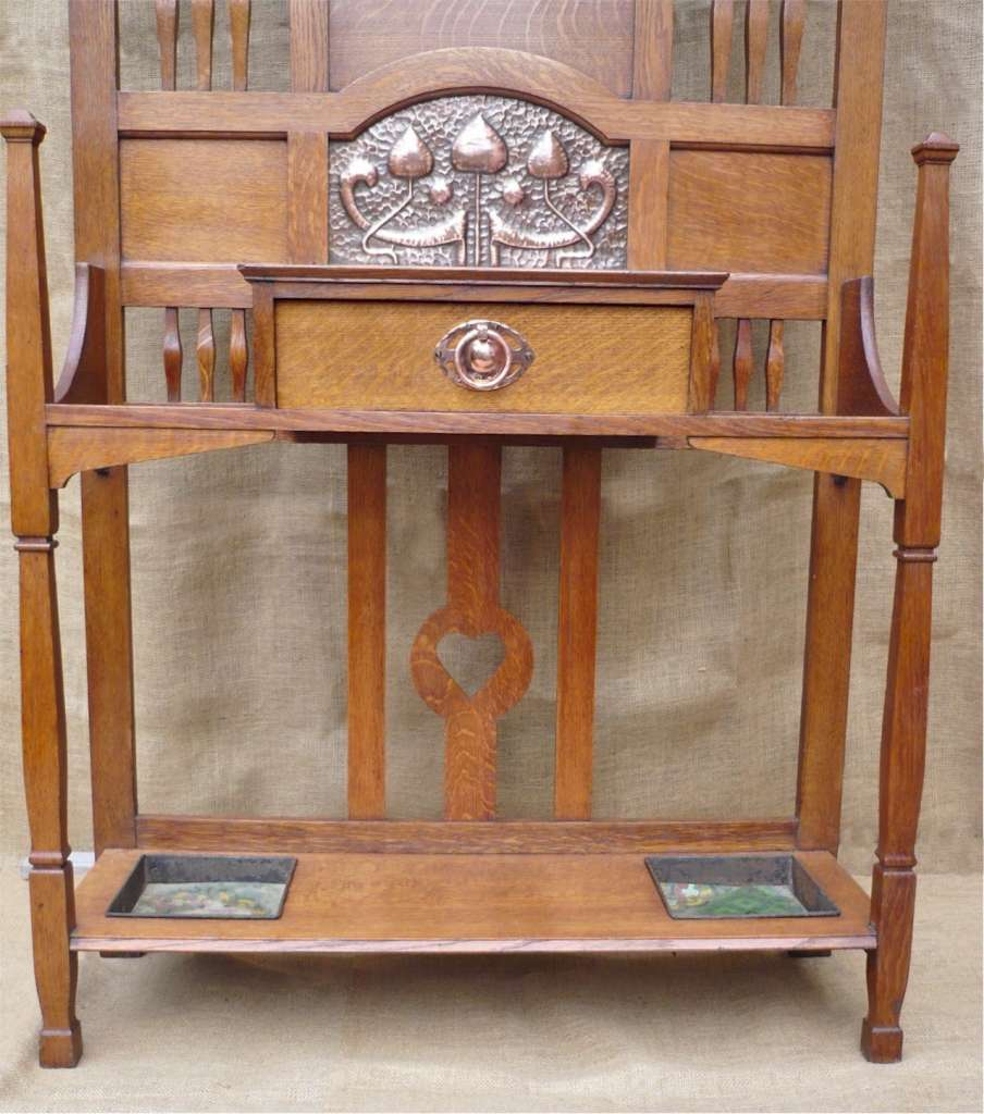 Shapland And Petter Hallstand In Oak Sold Art Furniture