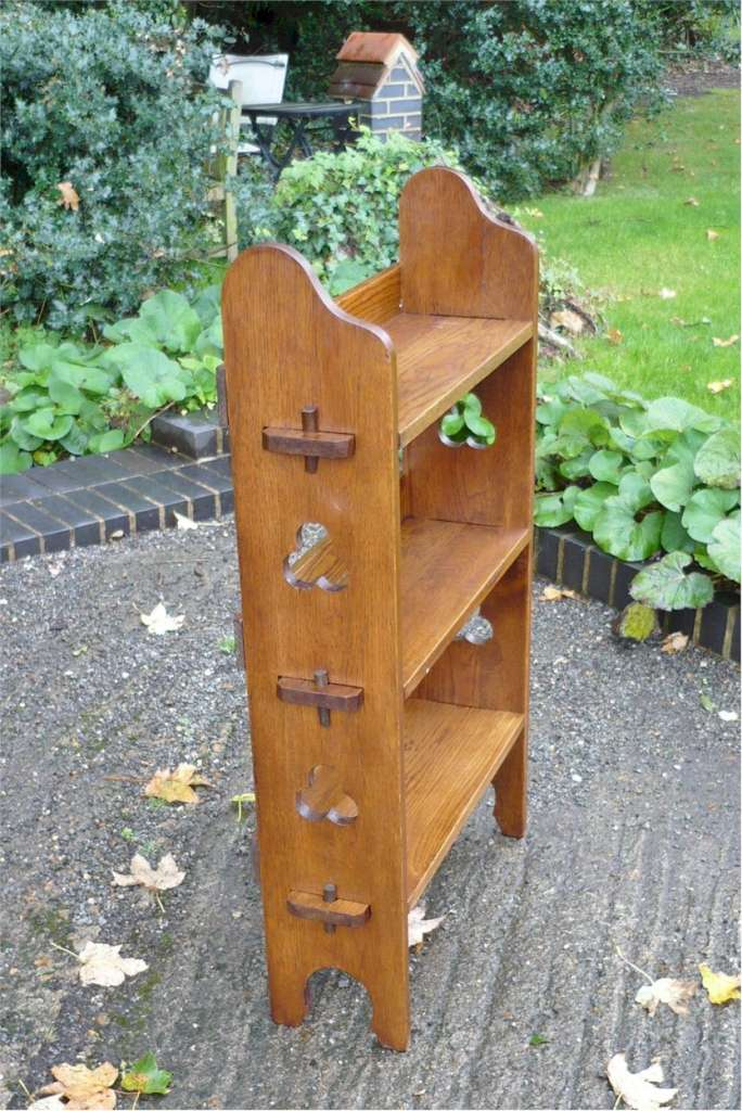 3 tier Sedley bookcase by Liberty & Co