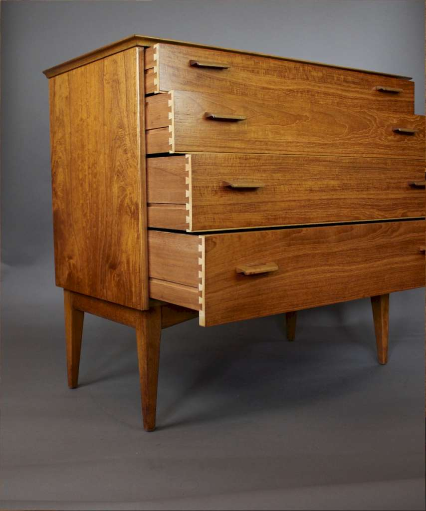 Vintage Mid Century Chest Of Drawers By Alfred Cox Latest Stock Art Furniture