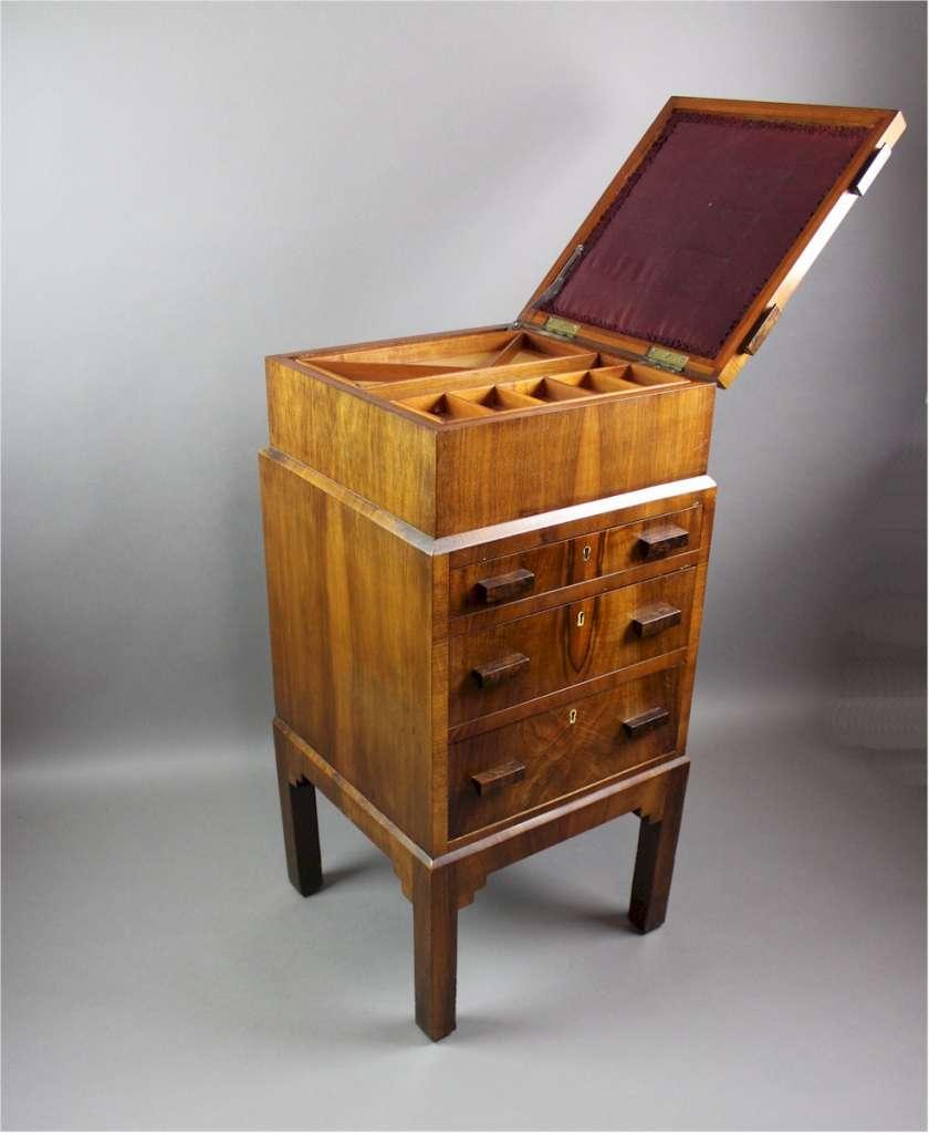 Art Deco Sewing Bedside Cabinet Furniture Bedroom Art Furniture