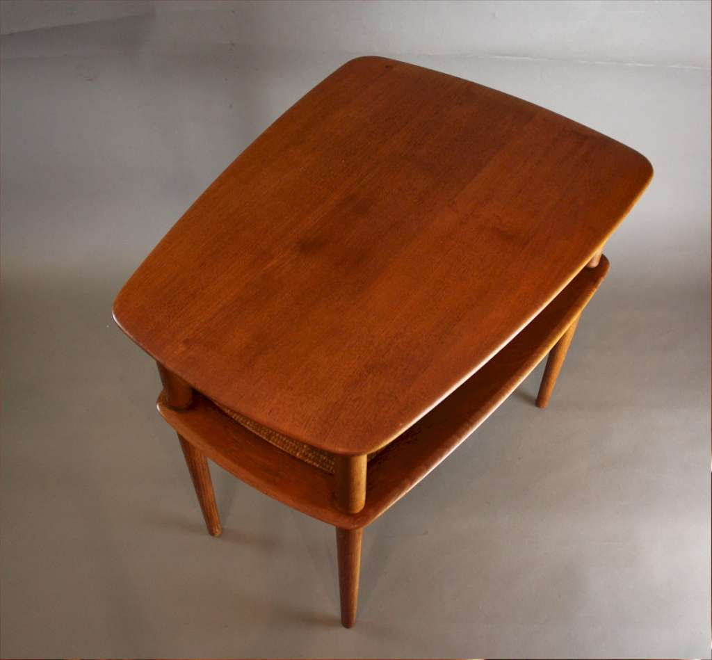 Peter Hvidt Teak Occasional Table for France & Son