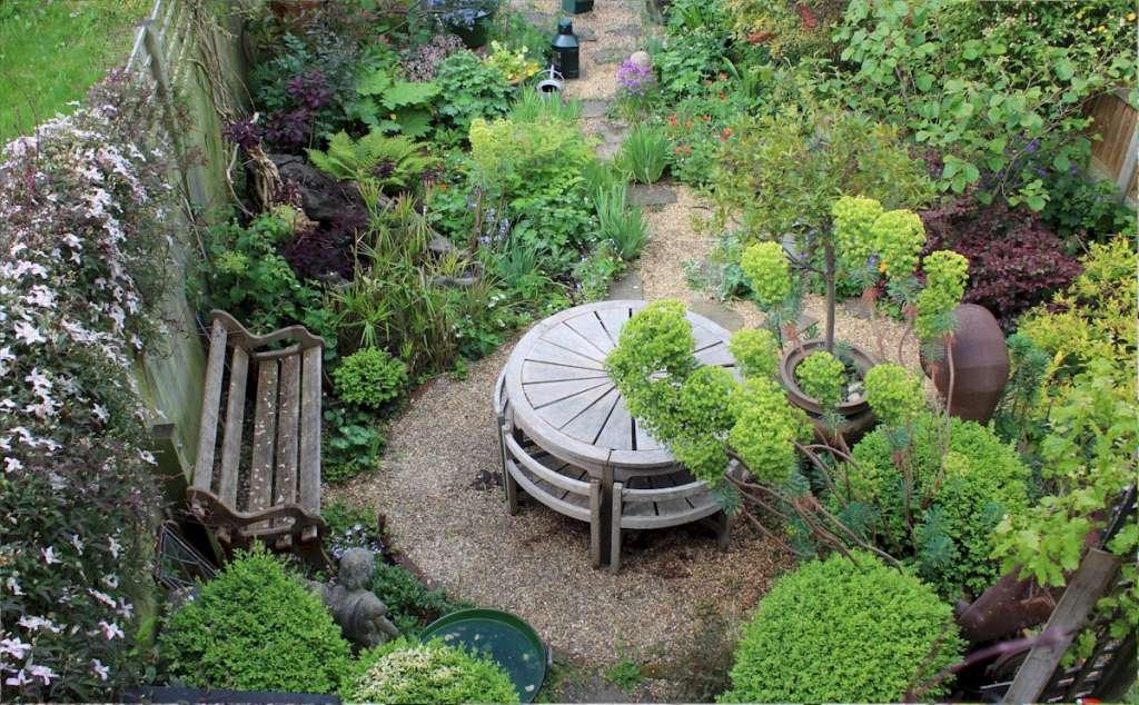 Rare Weathered Teak Garden Set By Hughes Bolckow Latest