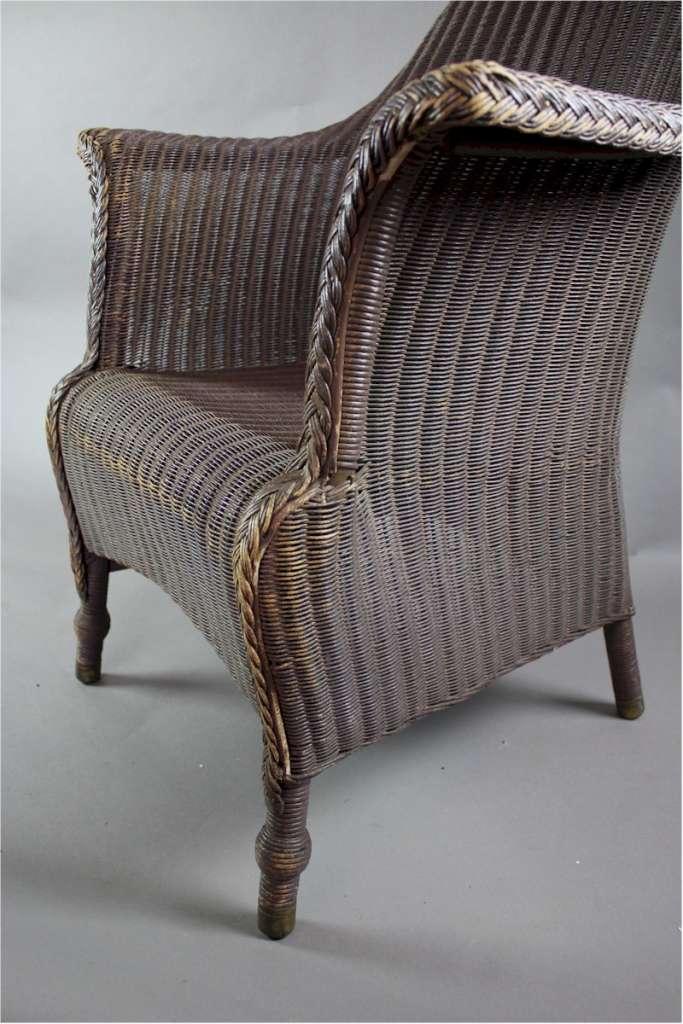 Large original Lloyd Loom armchair c1930's | Sold | Art ...