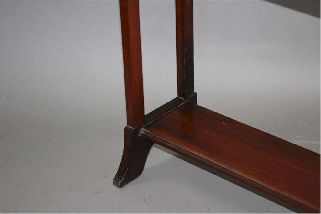 Mahogany Towel rail Edwardian