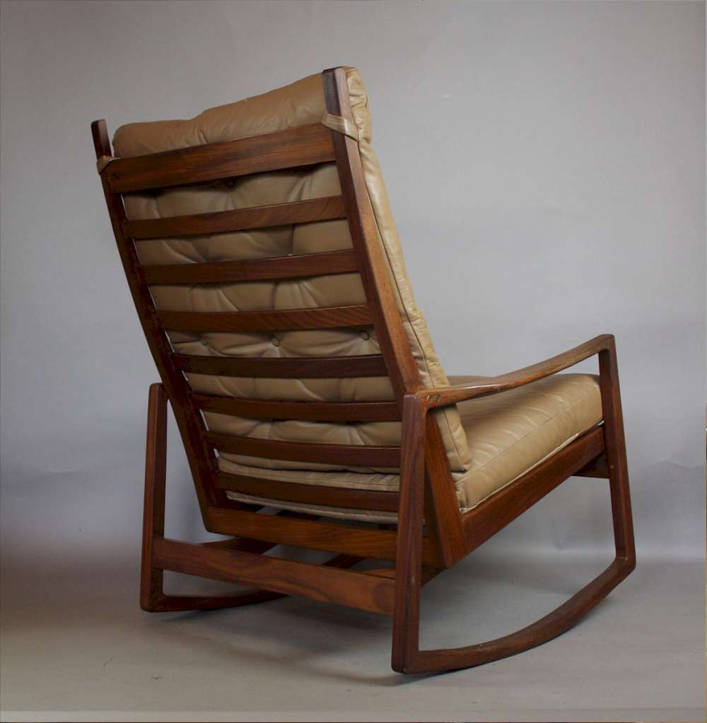 Good quality mid century rocking chair c1960's