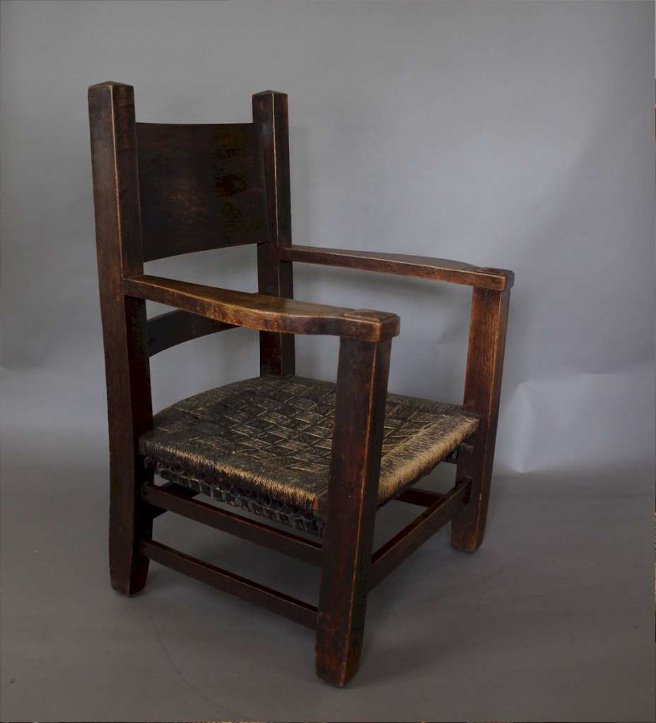 American Arts And Crafts Mission Armchair Furniture Chairs Art Furniture