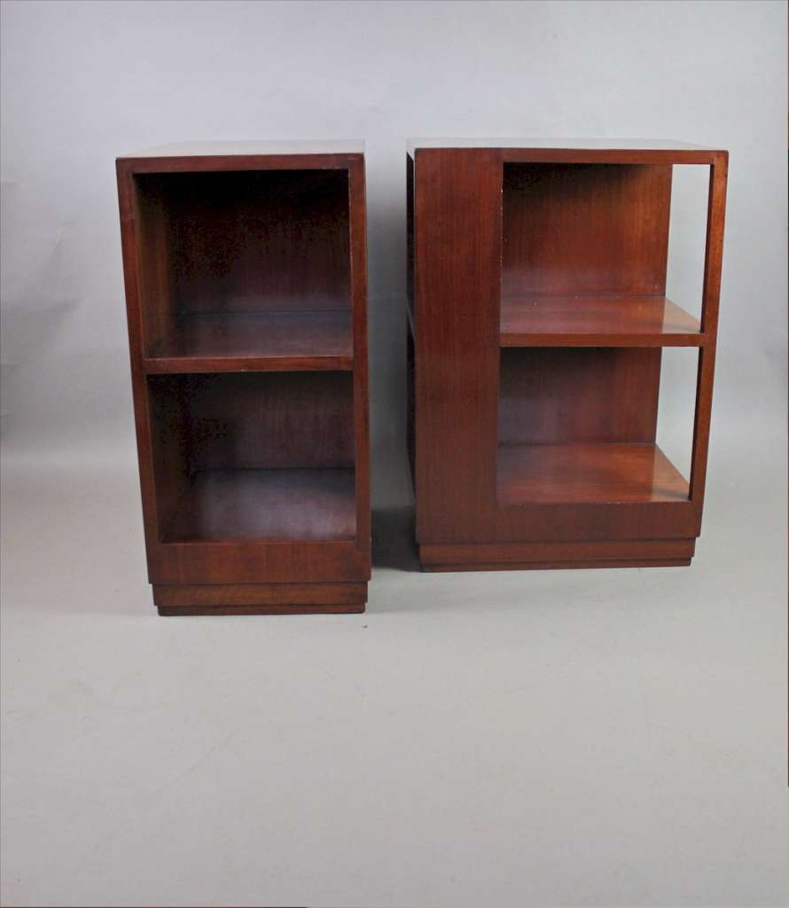 Pair of Modernist side tables c1930's
