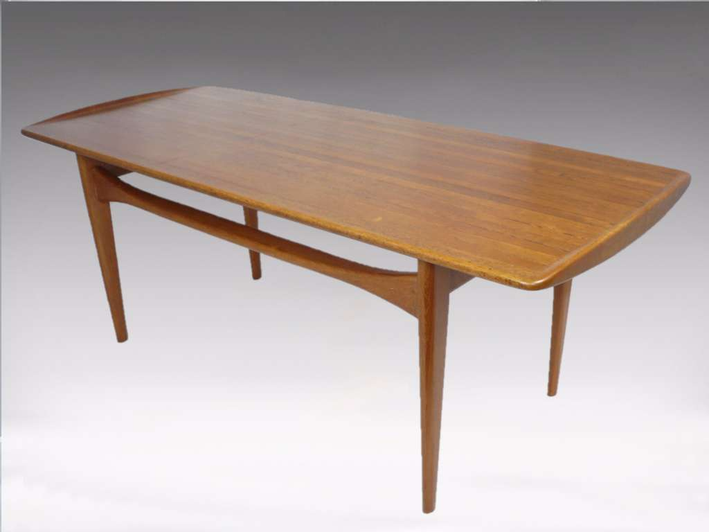 Mid Century Coffee Table By France Daverkosen Mid
