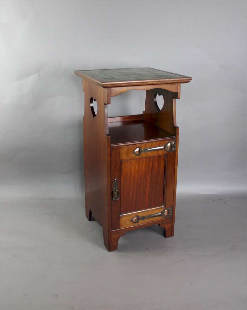 Shapland And Petter Arts And Crafts Bedside Cabinet Art Furniture