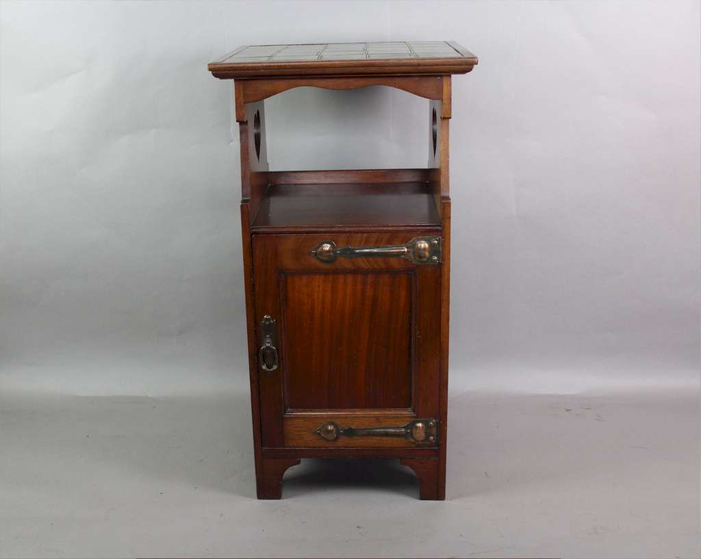 Shapland And Petter Arts And Crafts Bedside Cabinet Sold Art Furniture