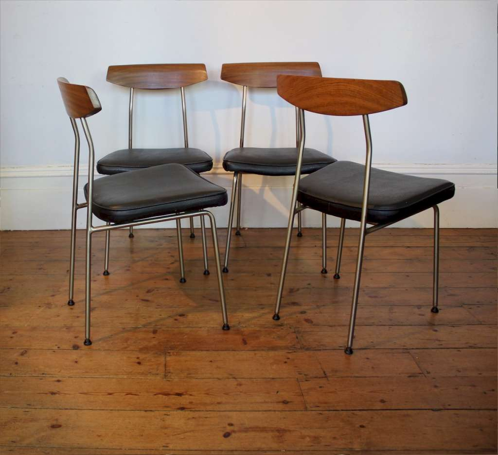 Sylvia Reid dining table and four chairs