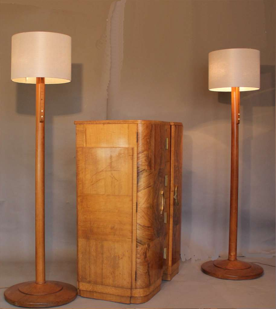 Good quality art deco tallboy c1930's