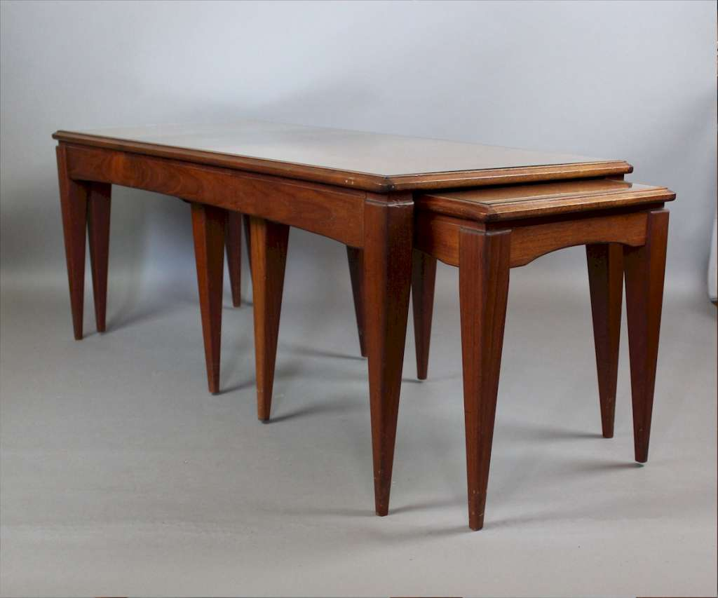Mid Century Teak Nesting Coffee Tables Latest Stock Art Furniture