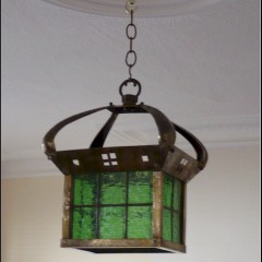 Scottish school hanging light