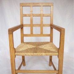 Cotswold school , possibly Heals , childs armchair