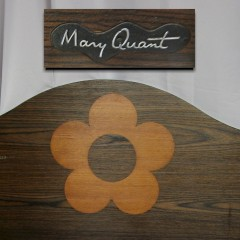 Mary Quant design bedhead for Myers 1960's