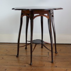 Occasional table in the manner of Morris and Co.