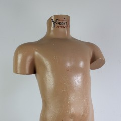 Junior boys shop fitting torso advertising Y fronts