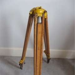 Old surveyors tripod 1960's