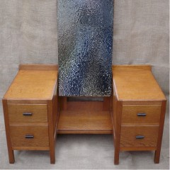 Heal & Son dressing table in oak