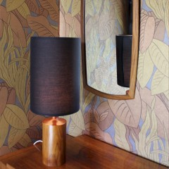 Mid-Century Rosewood table lamp c 1960's