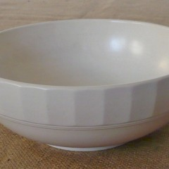 Keith Murray bowl for Wedgewood in moonstone