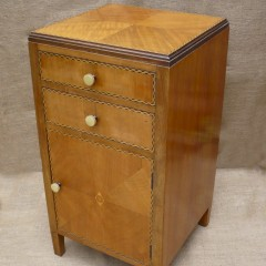 Bedside cabinet probably Bath Cabinet Makers