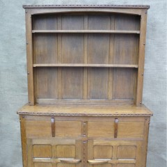 Small Cotswold School dresser in oak