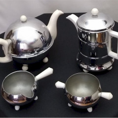 4 Piece insulated ' Everhot ' tea and coffee set