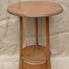 Arts and crafts side table by Listers of Dursley