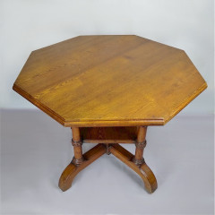 Howard & Sons centre table in golden ash