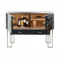 Modernist Art-Deco Cocktail Cabinet by Heal's