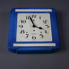 Ceramic art deco Kitchen clock by Blangy