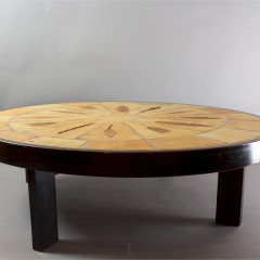 1970's tiled coffee table by Roger Capron of Vallauris France