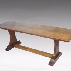 Substantial coffee table by ' Squirrelman ' Wilf Hutchinson