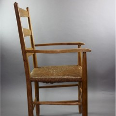 Ladderback chair in Ash made by Edward Gardiner