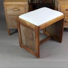 Heals limed oak bedroom stool from the Russet range c1930