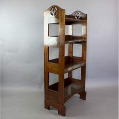 Arts and Crafts mahogany bookcase