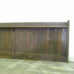 section of oak panneling