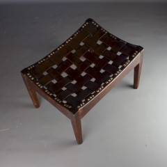 Arts and crafts stool by Arthur Simpson.