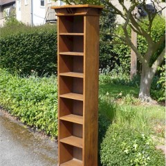 Tall and narrow arts and crafts bookcase
